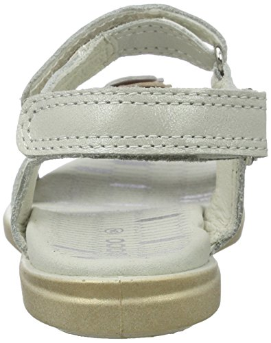 Ecco Ecco Tilda, Sandales  Bout ouvert fille Weiß (59573WHITE/ROSE DUST)