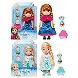 Jakks 48832 - Frozen Puppe inkl. Olaf - 1 Stück Anna oder Elsa