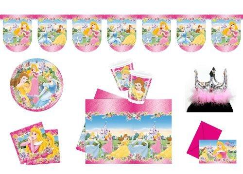 Folat 00233 - Kinderpartyset, Princess (Cinderella-geburtstag Einladungen)