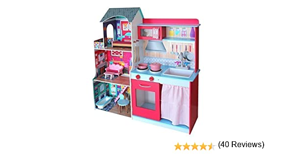 Mobili Per Casa Delle Bambole : Grande cucina e casa villa delle bambole in legno mobili e