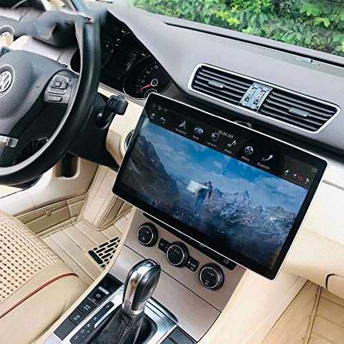 "KJHGYU 12.8 ""Tesla Android 8.1 4 + 64GB Universal Car Multimedia Radio Nein DVD-Player Compatibletoyota/Nissan/Suzuki/Lexus GPS-Navigation,4kfornissan"