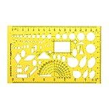 EsportsMJJ Heizung Lüftung Klimaanlage Entwurf Entwerfen Zeichnung Vorlage Kt Weiche Plastifc Lineal Schablone