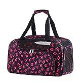 Transporttasche Tragetasche für Hunde Hundetasche Katzentasche Hundebox Katzenbox 46×26×26cm, Pink
