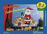 Fischer Fensterbilder ENDLICH BESCHERUNG/Bastelpackung/Größe: 69x55 cm/zum Selberbasteln/Basteln zu Weihnachten aus Papier und Pappe