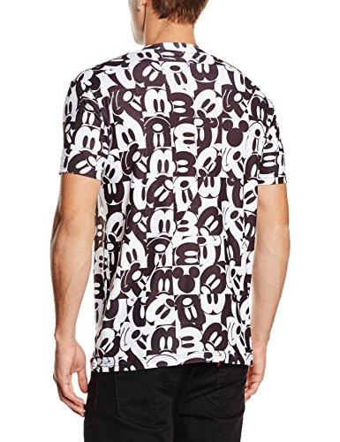 Disney Mickey Mouse Grid Camiseta para Hombre