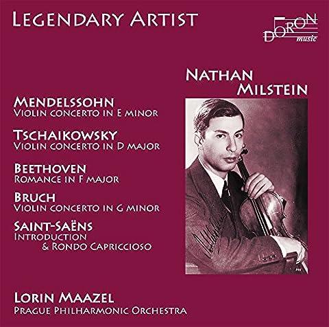 Nathan Milstein Interprète Mendelssohn, Tchaïkovski, Bruch