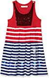 Desigual Mädchen Kleid Vest_Asmara, Rot (Carmin 3000), 140 (Herstellergröße: 9/10)