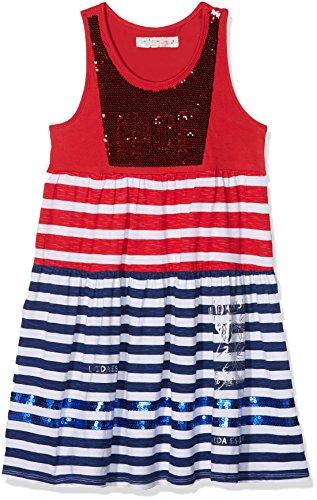 Desigual Vest_Asmara, Vestido para Niñas, Rojo (Carmin 3000), 164 (Talla del...
