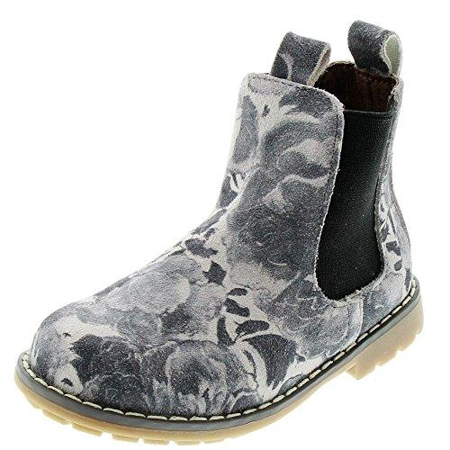 EnFant Fille, Boots classiques à Enfiler, Cuir 53 Medium Grey