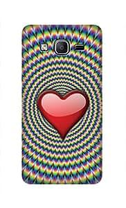 ZAPCASE PRINTED BACK COVER FOR SAMSUNG ON7 - Multicolor