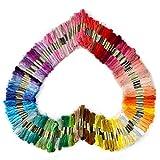 SOLEDI Stickgarn Embroidery Floss multifarben weicher Baumwolle perfekt für Friendship