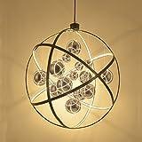 Nordic Kronleuchter Kreative Globus Wohnzimmer Esszimmer Lampe Mode Kunst Designer Beleuchtung Postmodern Persönlichkeit Kronleuchter