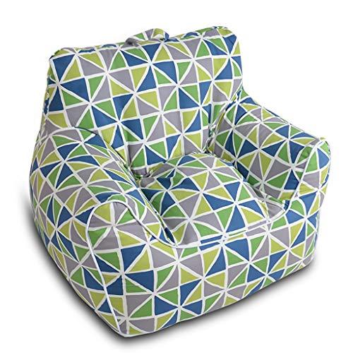 TLTLLRSF Komfortabler Sitzsack, Lazy Couch, Erwachsene Kinder Sitzsack Sofa Abnehmbar Und Waschbar, In Verschiedenen Ausführungen Erhältlich (Color : B, Size : Medium) -