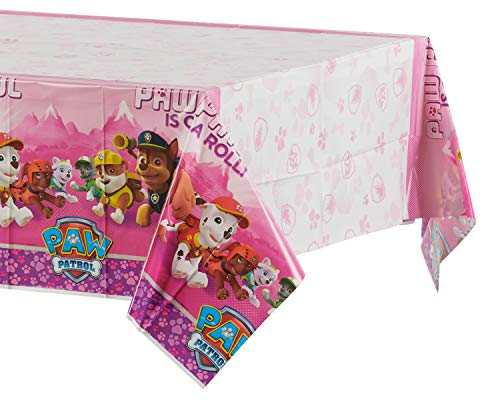 Amscan International 571665 1.37 X 2,43 m Paw Patrol Kunststoff Tisch Cover (Dress Party Eine Up Für Ideen)