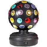 Bola giratoria con juego de luces de colores, Game Ball rotating light