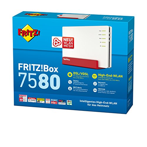 AVM FRITZ!Box 7580 WLAN AC + N Router - 3