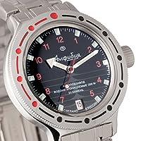 Vostok 420280Rana Ruso Militar reloj 2416b 200m auto de Vostok Amphibian