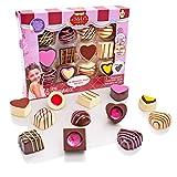 S & Li Cosmetics Chocolate - Set de Brillo de Labios, 12 Piezas