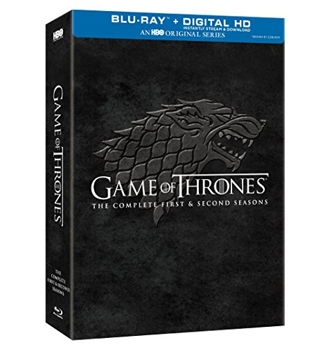 Game of Thrones: Complete First & Second Season [USA] [Blu-ray]
