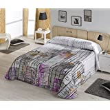 Mercatohouse - Colcha Bouti New York (Cama - 150)