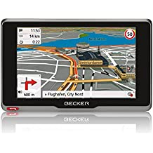 Becker active.5s CE Navigationsgerät (12,7 cm (5 Zoll) kapazitives Echtglasdisplay, 20 Länder, gratis Blitzerwarner für 1 Jahr, TMC, inkl. MagClick Aktivhalter)