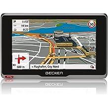 Becker active.5s CE Navigationsgerät (12,7 cm (5 Zoll) kapazitives Echtglasdisplay, 20 Länder, lebenslange Kartenupdates, gratis Blitzerwarner für 1 Jahr, TMC, inkl. MagClick Aktivhalter)
