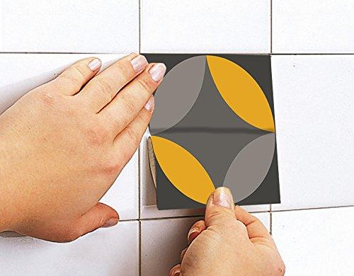 Adesivi per piastrelle confezioni con 36 piastrelle 20 x 20 cm