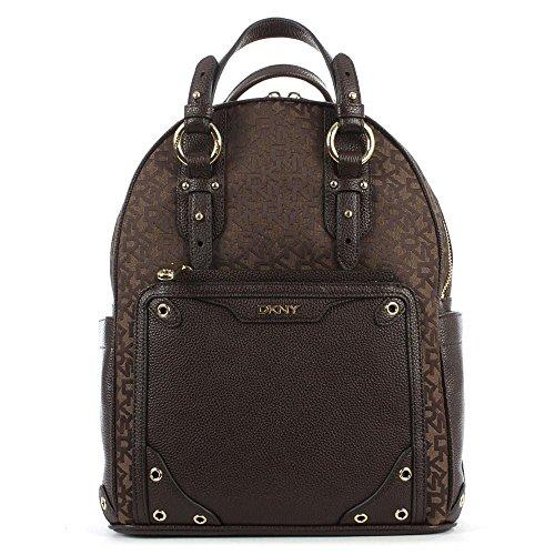mochila-de-vintage-marron-logotipo-de-patrimonio-dkny-brown-fabric