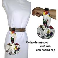 Bolso de mano MOTIVOS HIPPIES artesanal, para el móvil, las llaves, la cartera, pañuelos, etc. ideal para ir de paseo, a bailar. EXCLUSIVO Y PATENTADO.