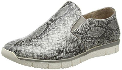 Lotus Lucia, Women'S Slip on sneakers, Multicolored (Black Snake Print), 6 UK...