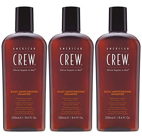 American Crew Classic Daily Moisturizing Shampoo Aktion - 3x 250ml = 750ml - American Crew Daily Moisturizing Shampoo