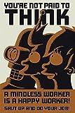 1art1® 40721 Futurama - Póster No pienses (91 x 61 cm, en inglés)