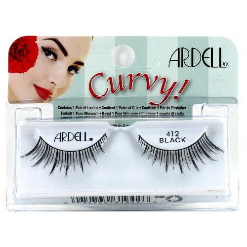 (6 Pack) ARDELL Lashes Curvy Collection - Black 412