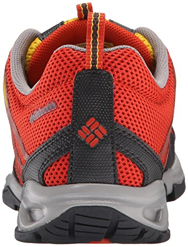 Columbia Mens Drainmaker Fly Trail Shoe Bonfire/Electron Yellow