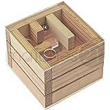 matches21 Würfel-Labyrinth auf 3 Ebenen 9x9x7 cm Bausatz f. Kinder Werkset Bastelset ab 11 Jahren