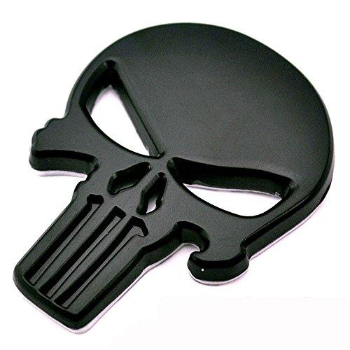 Autocollant 3D crâne Skull Punis...
