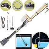 GOTOTOP Elettrico sifone Vacuum Cleaner Ghiaia Acqua Filtro sifone Vuoto Pompa Acqua per Acquario, batterie Non Incluse