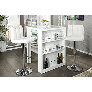Neofurn - ENZO - breakfast bar white high gloss kitchen