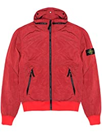 Stone Island Jacket - Spring Summer 2018 Junior Red Nylon Metal Bomber Jacket – RRP £275 (681641535 V0010)