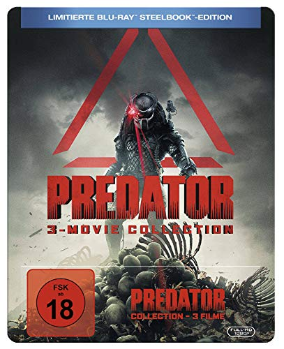 PREDATOR 1-3 [Blu-ray] Blu-ray-upgrade