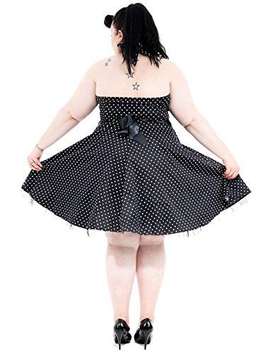 MIK funshopping - Robe -  Femme Noir Noir Multicolore - Bigarré
