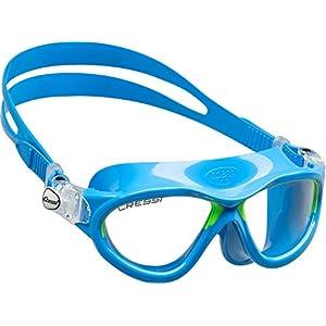 51iRYP5H9zL. SS300 Cressi Cobra Kid Premium Occhialini per Il Nuoto, Ottimi per Piscina e Snorkeling, per Bambini da 7 a 15 Anni