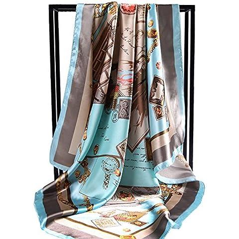 Autunno Inverno Womens Fashion eleganza Super Morbida sciarpa scialle Europa Street Style(cotone/lana/filo/seta)W-113