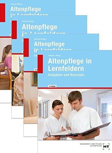 Paketangebot: Altenpflege in Lernfeldern: Band 1 - 4 im Schuber zum Paketpreis