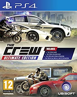 The Crew Ultimate Edition (PS4) (B01N0ZROBS) | Amazon Products