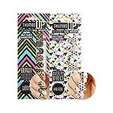 ThumbsUp Nails Multipack Nail Wraps/Selbstklebende Nagelfolien-Politurstreifen/Full Coverage Nail Art Sticker