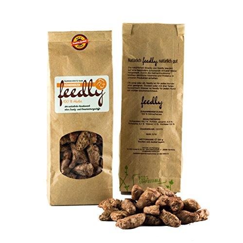 feedly B.A.R.F.-Leckerli gefriergetrocknet & getreidefrei | ohne Zusatz- und Konservierungsstoffe in 8 versch. Sorten (Hühnerherzen, 1 x 120g)