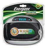 Energizer - Caricabatterie per batterie ricaricabili: AA (LR6), AAA (LR03), C (LR14), D (LR20) e 9V (6LR61)