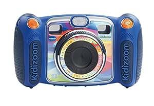 VTech - Fotocamera per bambini KidiZoom Duo, colore: Blu