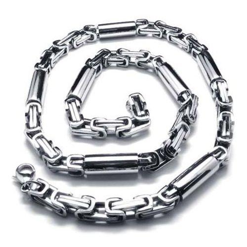 diaz-fashion-mens-byzantine-chain-necklace-stainless-steel-width-8-mm-length-55-cm-hefty-chain-neckl